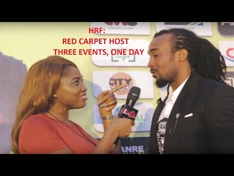 HRF: RED CARPET HOST - THREE EVENTS, ONE DAY | HRF ADAUGO IS 9JABBB