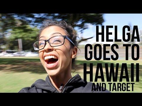 HELGA GOES TO HAWAII!! (видео)