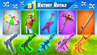 Video The RANDOM *EVERYTHING* challenge in Fortnite: Battle Royale! MP3, 3GP, MP4, WEBM, AVI, FLV Agustus 2018