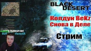 Black Desert СТРИМ: Колдун BeKz снова в деле!