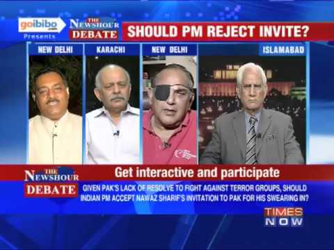 Invite - In a debate moderated by TIMES NOW's Editor-in-Chief Arnab Goswami, panelists -- Subramanian Swamy, President, JP; Retd Colonel Anil Kaul, Vr C; Mahroof Raza...