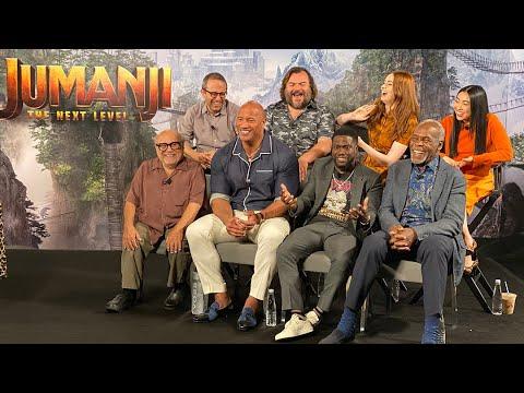 JUMANJI: THE NEXT LEVEL - Cast Q&A