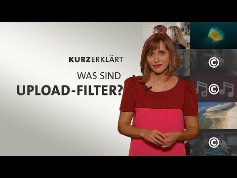 Was sind Upload-Filter?