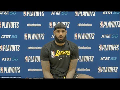 LeBron James & Anthony Davis React To Game 2 Win   Full Postgame