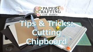 Chipboard can be difficult so cut with precision! In this tips and tricks, I show three way I have cut chipboard with success. Thank you for watching. Keep an eye out for my upcoming tutorials using chipboard:- Vintage Stationary Box- Correspondence Folio- Little Safari Baby Boy Mini Album My Collection:https://youtu.be/7fEK6cNLx9kLinks to JoAnn's chipboard:- White: http://www.joann.com/grafix-12inx12in-medium-weight-chipboard-sheets-25pk-white/2079200.html#q=chipboard&start=1- Natural: http://www.joann.com/grafix-12inx12in-medium-weight-chipboard-sheets-25pk-natural/2082303.html#q=chipboard&start=2- Black: http://www.joann.com/grafix-12inx12in-medium-weight-chipboard-sheets-25pk-black/2079317.html#q=chipboard&start=6Link to JoAnn's magnets:http://www.joann.com/basic-grey-large-magnetic-snaps/1465632.html#q=basic%2Bgrey%2Bmagnets&start=2