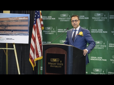 Video thumbnail: Vishal Soin Innovation Park provides opportunities for business, industry collaborations
