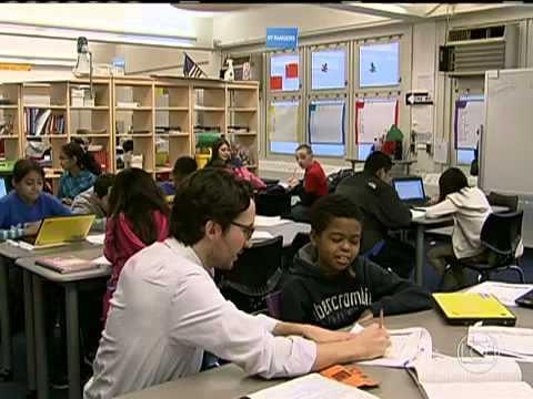 Escolas públicas apostam na tecnologia dentro das salas de aula