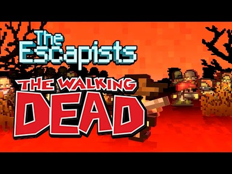 обзор The Escapists The Walking Dead Deluxe