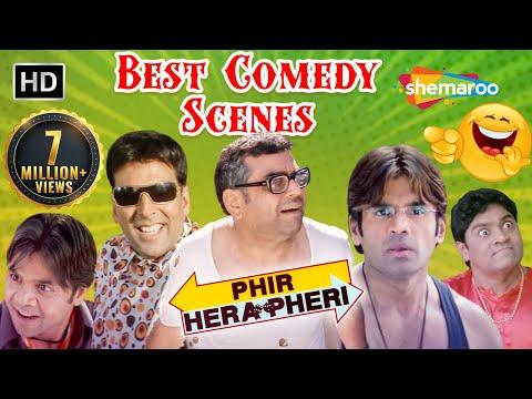 Nonstop Comedy Scenes - Phir Hera Pheri - Akshay Kumar - Paresh Rawal - Rajpal Yadav - Sunil Shetty