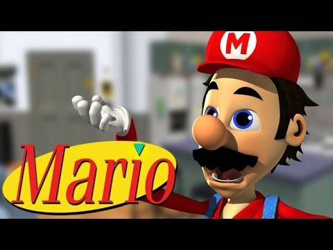 If Seinfeld Was Super Mario Brothers.
