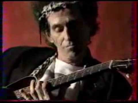 Keith Richards Playing Robert Johnson Blues Style