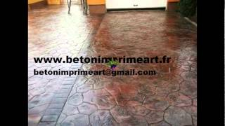 Appietto France  city photos : Beton Imprime Appietto (20167) ,France www.betonimprimeart.fr YouTube