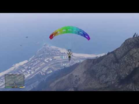 comment prendre parachute gta v