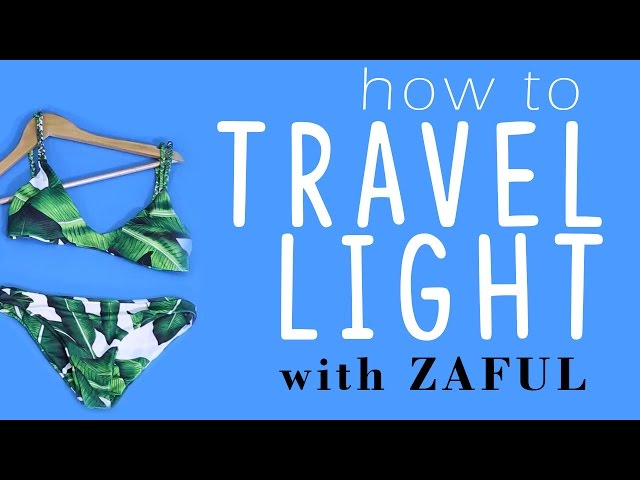How to Pack Light & Look Cute While Traveling