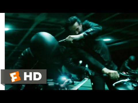 John Wick: Chapter 3 - Parabellum (2019) - Motorcycle Fight Scene (7/12) | Movieclips