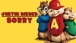 Video Justin Bieber - Sorry   Alvin and the Chipmunks Cover   MP3, 3GP, MP4, WEBM, AVI, FLV Oktober 2018