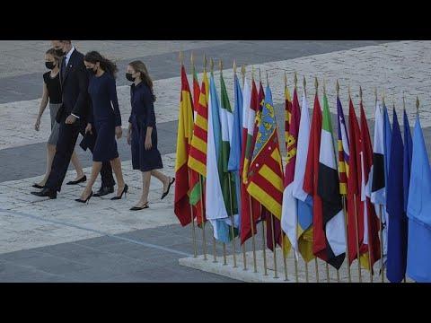 Η Ισπανία τιμά τους 28.400 νεκρούς της πανδημίας