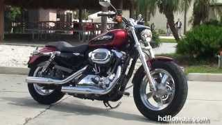 9. Used 2013 Harley Davidson Sportster 1200 Custom Motorcycles for sale