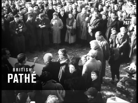 Auschwitz Concentration Camp Reel 1 (1945)