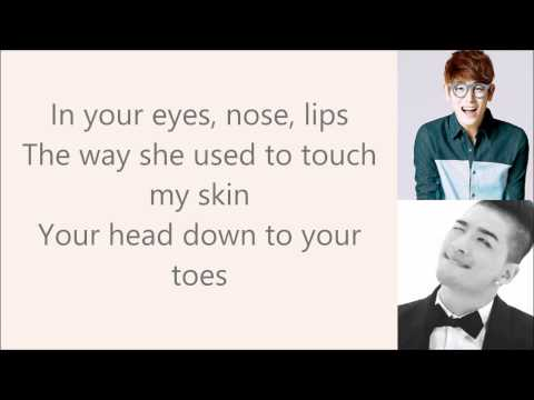 { Eyes Nose Lips } English Cover By Eric Nam Lyric Video