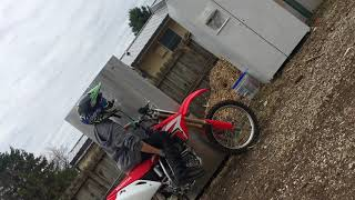 8. 2018 crf150r review and start up