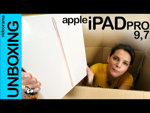 Apple iPad Pro 9.7 unboxing en español | 4K UHD