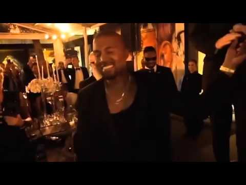 Kanye West Interrupts Friends Wedding Toast