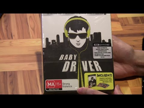 Baby Driver 4K Ultra HD + Blu Ray + Earphones