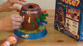 Pirate Pop Up from Tomy Toy Review