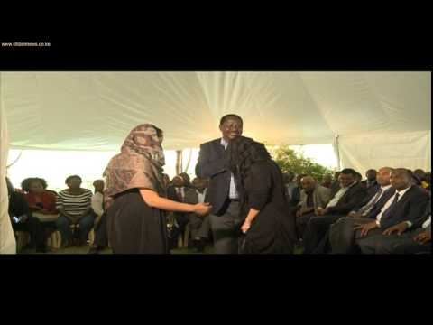 Fidel raila wedding
