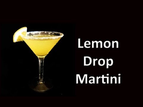 Best Lemon Drop Martini Cocktail Drink Recipe