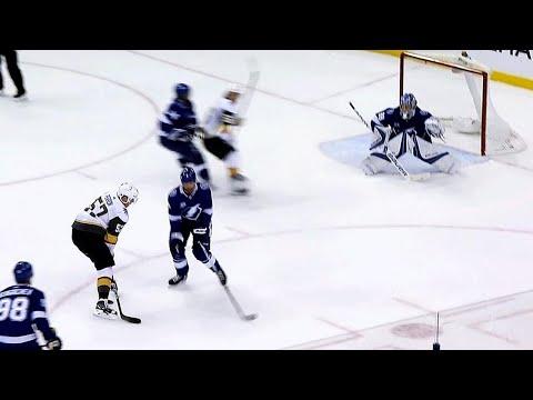 Video: Gotta See It: Fleury's big pad save leads to slick Perron goal