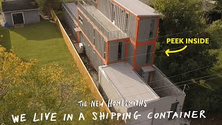 Video We Live In A Shipping Container | The New Homesmiths | Apartment Therapy MP3, 3GP, MP4, WEBM, AVI, FLV September 2019