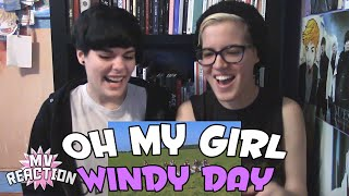 Video OH MY GIRL (오마이걸) - WINDY DAY ★ MV REACTION MP3, 3GP, MP4, WEBM, AVI, FLV Juli 2018