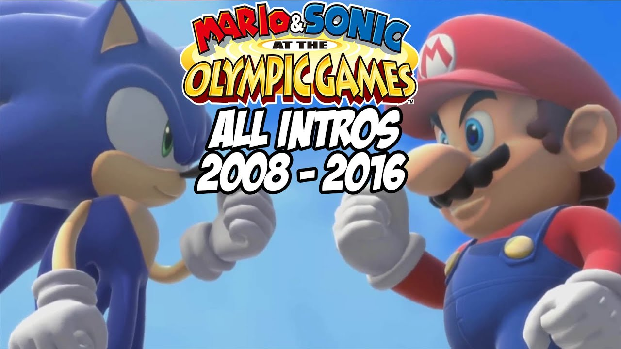 Mario & Sonic at the Olympic Games – All Intros 2008 – 2016 ( Wii, Wii U)