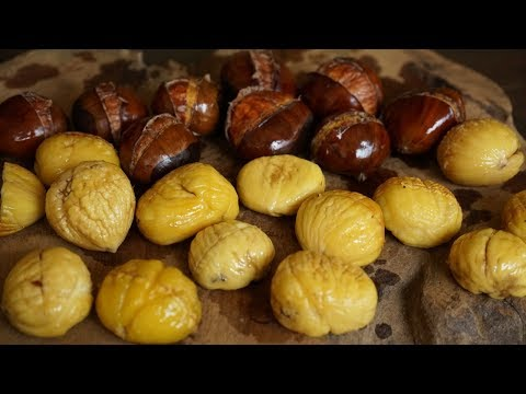 A Trick To Peel Easily and Quickly Chestnuts - Morgane Recipes
