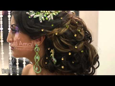 Maquillage et chignon by Hadad Amal Photo et video par VideoGraphes.fr