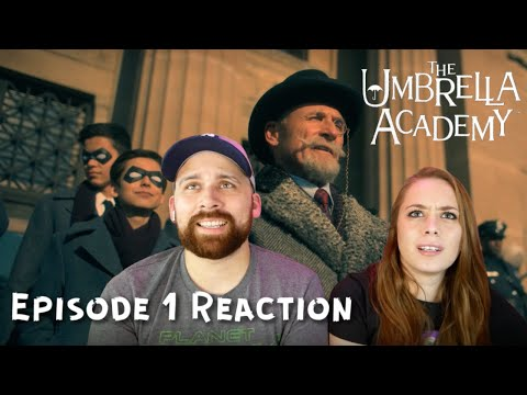 "The Umbrella Academy Season 1 Episode 1 ""We Only See Each Other at Weddings and Funerals"" Reaction!"