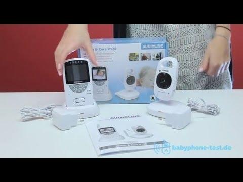 Audioline Watch & Care V120 Video Testbericht