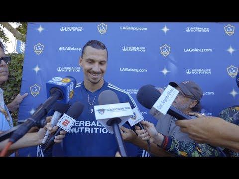 Video: WATCH: Zlatan Ibrahimovic on LA Galaxy match against LAFC: