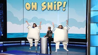Video Watch These Audience Members Get Soaked in 'Oh Ship!' MP3, 3GP, MP4, WEBM, AVI, FLV Oktober 2018