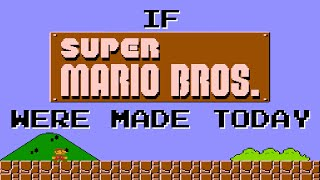 If Super Mario Bros. were made in 2016