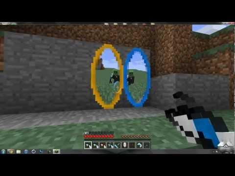 Minecraft 1.2.5 - How To Install The Portal Gun Mod