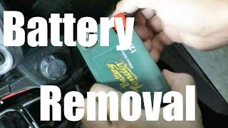 7. Yamaha FJR1300 Battery Removal
