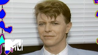 David Bowie Talks 'Labyrinth' Backstage At Live Aid | MTV News