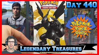 Pokemon Pack Daily Legendary Treasures Booster Opening Day 440 - Featuring Brodie-Amity TCG by ThePokeCapital