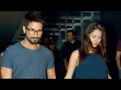 Shahid Wants Mira To Act Soon |