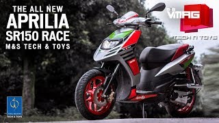 6. Aprilia SR 150 Race Review | Scooter that's as good as a bike | Nepal Telecom Tech & Toys | M&S VMAG