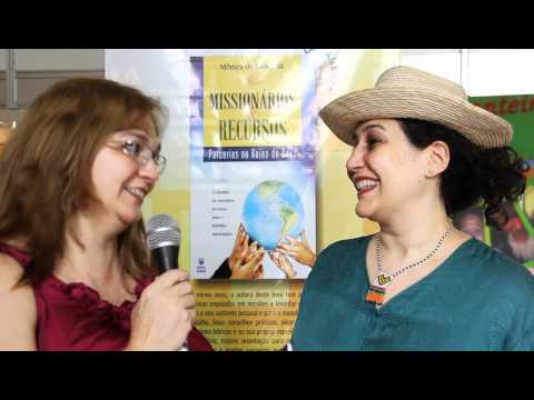 6° CBM - Entrevista Miss. Mônica Mesquita, escritora do livro