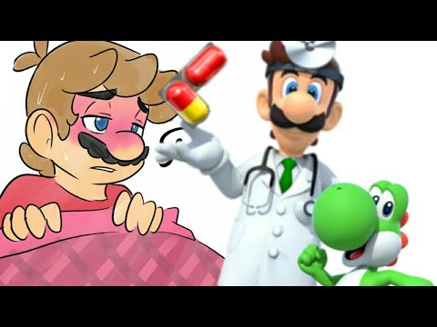 Mario and Luigi short: Mario's sickness